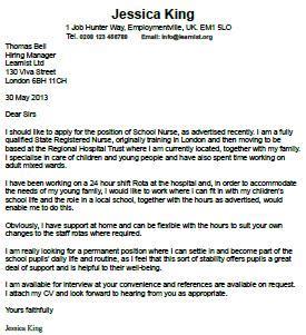 Financial advisor cover letter example, sample template
